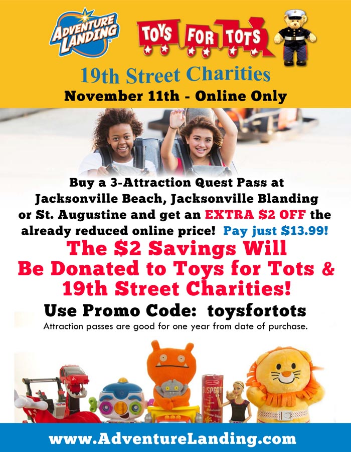 Toys For Tots Fundraiser Jacksonville Blanding