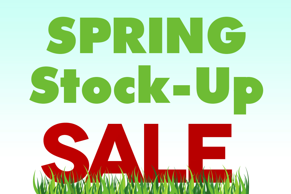 Spring Stock Up Sale Jacksonville Blanding