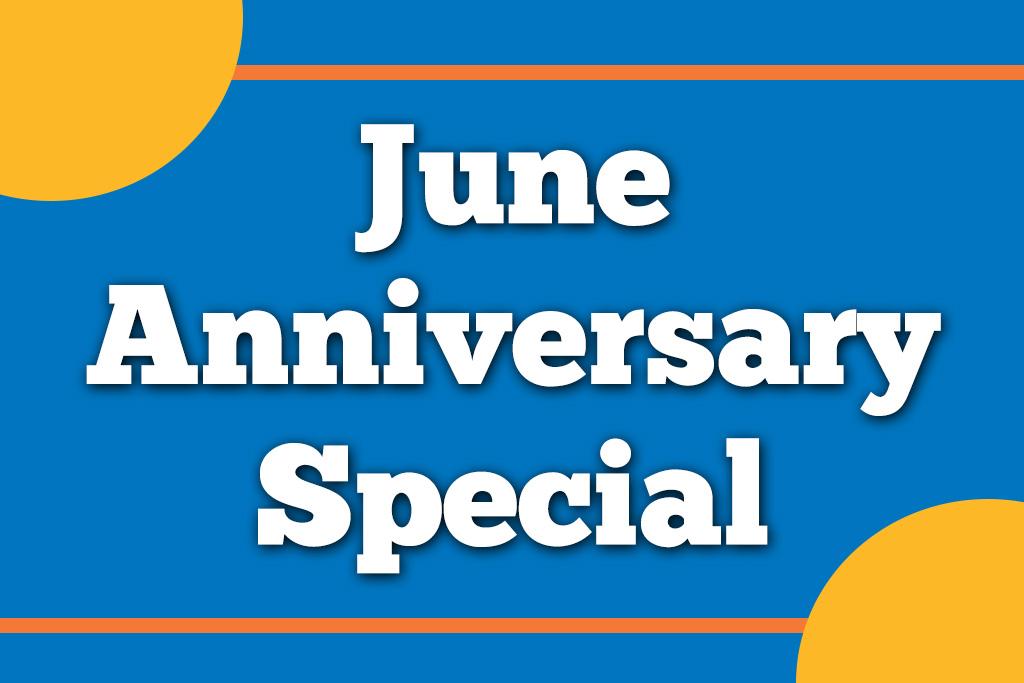 June Anniversary Special Jacksonville Blanding