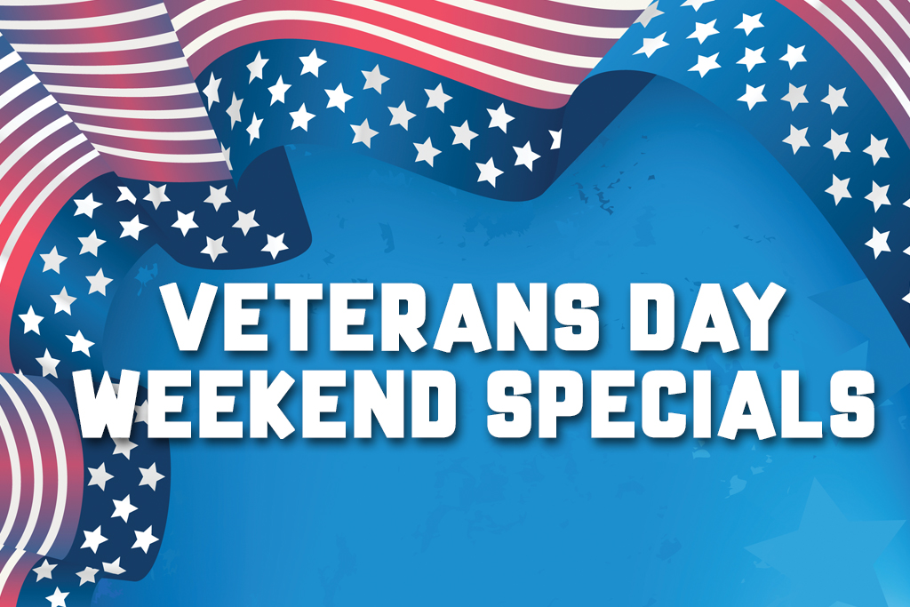Veterans Day Weekend Specials Jacksonville Blanding