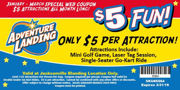 5 Fun Days Jacksonville Blanding