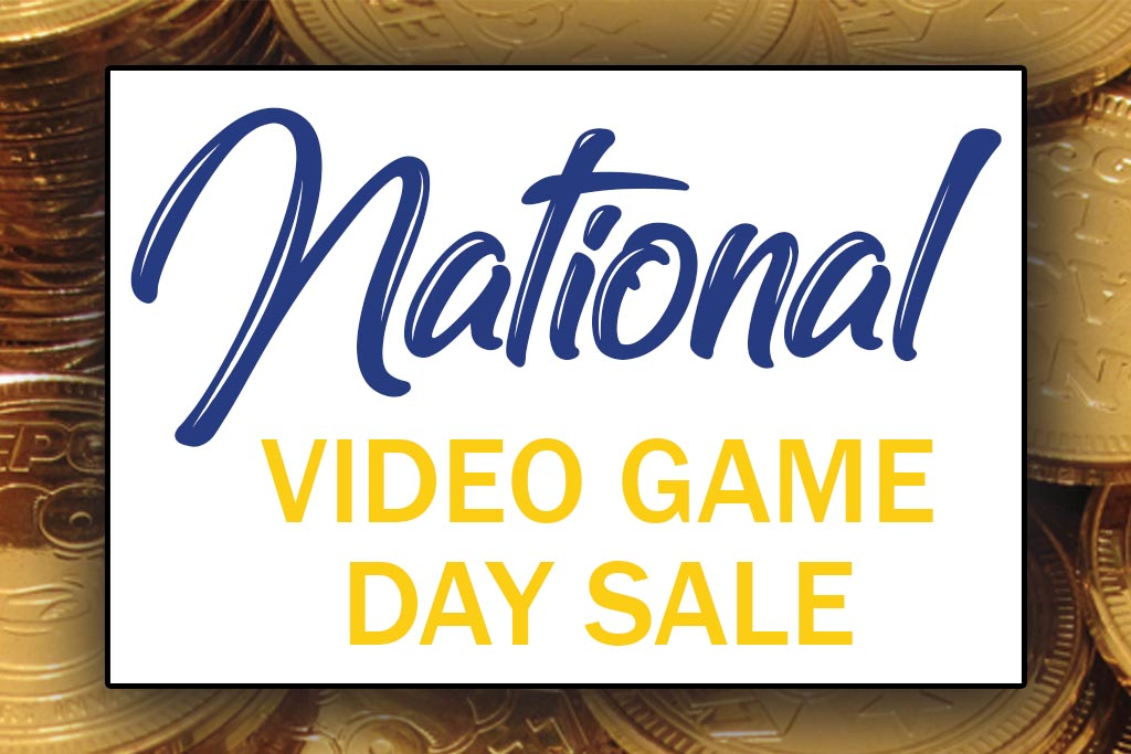 National Video Game Day Sale Jacksonville Blanding